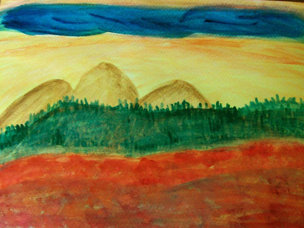 Neue Horizonte, Bildbeispiel aus der Psychoonkologie